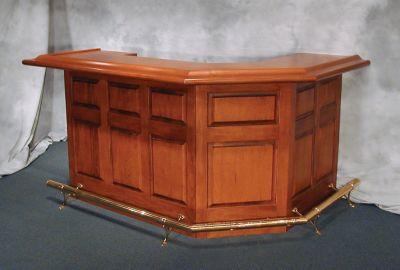 Kingston Raised Panel Front Bar