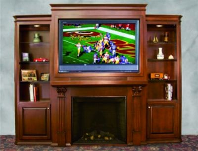 TV/Fireplace Surround Center