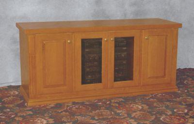 Deluxe Audio/Video Cabinet