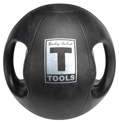 Dual Grip 18 lb. Medicine Ball