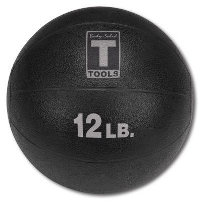 Black 12 lb. Medicine Ball