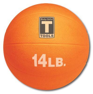 Orange 14 lb. Medicine Ball