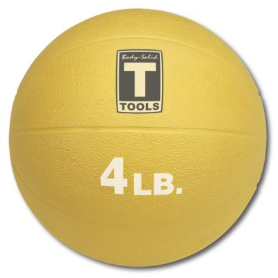 Yellow 4 lb. Medicine Ball
