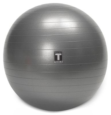 Gray 55cm Stability Anti-Burst Exercise Ball