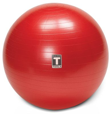 Red 65cm Stability Anti-Burst Exercise Ball