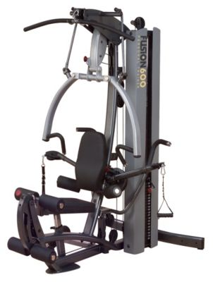 Fusion 600 Gym with 310 lb. Weight Stack