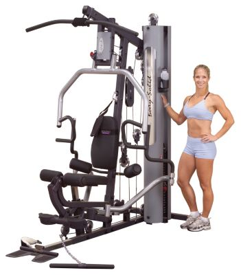 Single Stack Selectorized Home Gym
