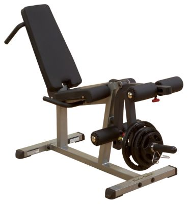 Seated Leg Extension & Prone/Supine Curl Machine