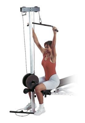 Lateral Pull Down & Seated Row Attachment for GDIB46L Bench