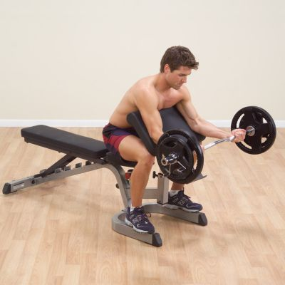 Preacher Curl Attachment for Benches