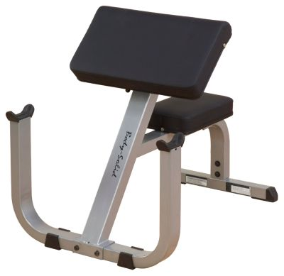 Heavy-Duty Preacher Curl Bench