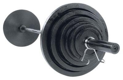 Cast 455 lb. Olympic Plate Set