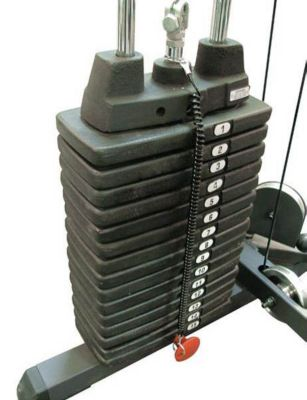 50 lb. Selectorized Weight Stack Upgrade Add-On Kit