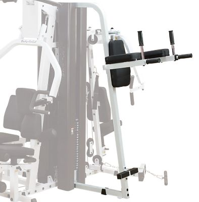 Combination Vertical Knee Raise/Dip Station Attachment for the EXM3000 Gym System