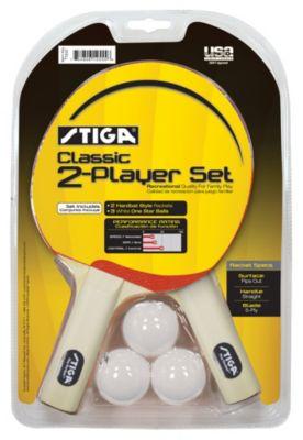 Stiga® Classic 2-Player Table Tennis Racket Set