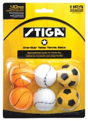Stiga® 1-Star Table Tennis Balls