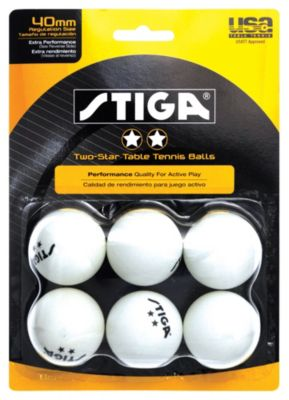 Stiga® 2-Star Table Tennis Balls