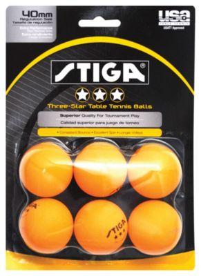 Stiga® 3-Star Table Tennis Balls