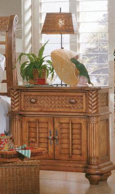 Palm Court 2-Door Nightstand