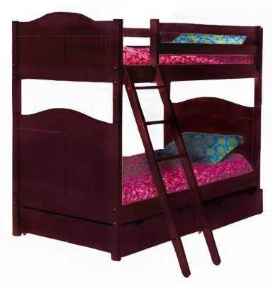Cottage Bunk Bed - Cherry