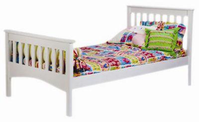 Mission Full Bed - White