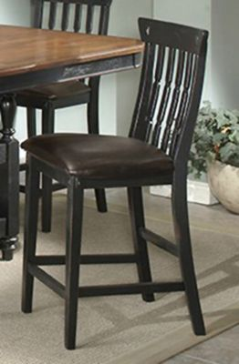 Clear Brook Dining Slatback Stool