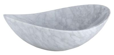 Marble Oval Stone Above Counter Vessel Sink