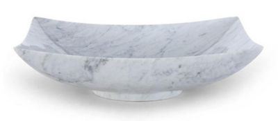 Marble RectangleStone Above Counter Vessel Sink