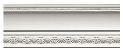 Shell & Bellflower Crown Moulding