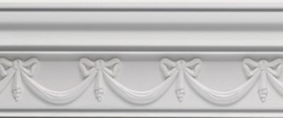 Bow Swag Crown Moulding
