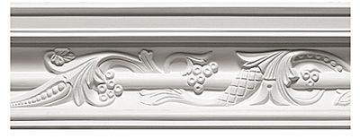 Pea Pod & Vine Crown Moulding