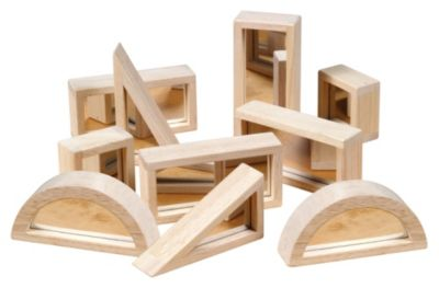 Mirror Blocks Set - 10-Piece Set