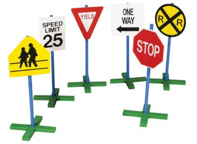 Drivetime Signs - Set of 6