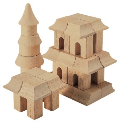 Tabletop Building Blocks - Oriental
