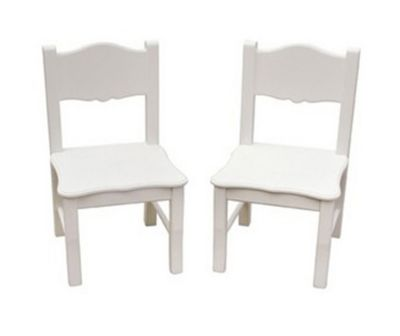 Classic White Extra Chairs-Set of 2