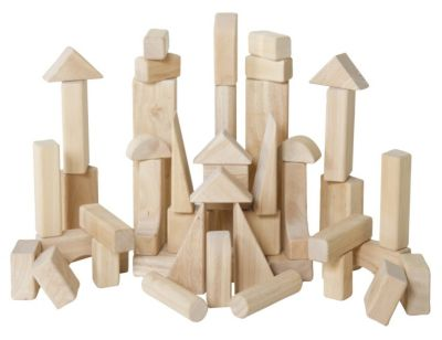 Classroom Unit Blocks 45 Piece Set