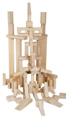 Classroom Unit Blocks 86 Piece Set