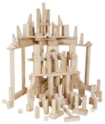 Classroom Unit Blocks 170 Piece Set