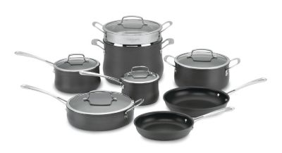 Contour™ Hard-Anodized 13 Piece Cookware Set