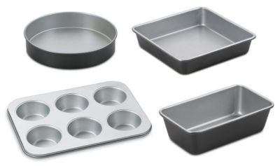 Chef's Classic 4-Piece Non-Stick Metal Bakeware Set