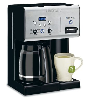12-Cup Programmable Coffeemaker with Hot Water System