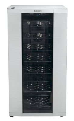 32-Bottle Private Reserve Wine Cellar - Stainless Steel