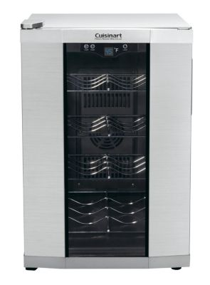 8-Bottle Private Reserve® Wine Cellar - Stainless Steel