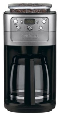 Burr Grind & Brew™ 12-Cup Fully Automatic Coffee Maker - Brushed Chrome
