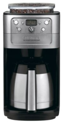 Grind & Brew Thermal™ 12-Cup Fully Automatic Coffee Maker - Brushed Chrome