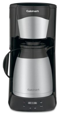 12-Cup Programmable Automatic Brew & Serve Coffee Maker - Black