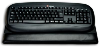 Top-Grain Leather Classic Keyboard Pad - Black