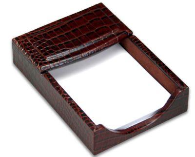 Crocodile Embossed Top-Grain Leather 4
