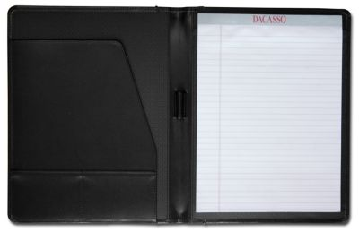 Top-Grain Leather Standard Portfolio - Black