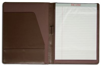 Top-Grain Leather Standard Portfolio - Chocolate Brown